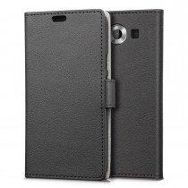 Hoesje Microsoft Lumia 950 flip wallet zwart
