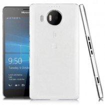 Hoesje Microsoft Lumia 950 hard case transparant