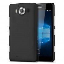 Hoesje Microsoft Lumia 950 hard case zwart