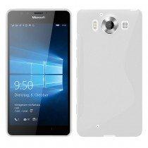 Hoesje Microsoft Lumia 950 TPU case transparant