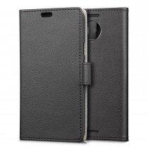Hoesje Microsoft Lumia 950 XL flip wallet zwart
