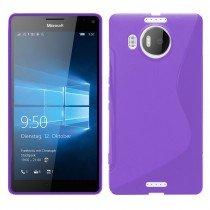 Hoesje Microsoft Lumia 950 XL TPU case paars