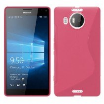 Hoesje Microsoft Lumia 950 XL TPU case roze
