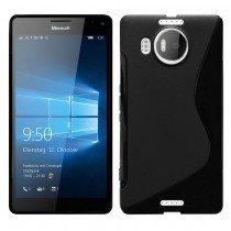 Hoesje Microsoft Lumia 950 XL TPU case zwart