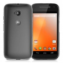 Hoesje Motorola Moto E (2015) hard case transparant