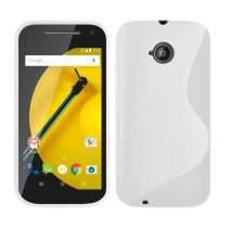 Hoesje Motorola Moto E (2015) TPU case transparant
