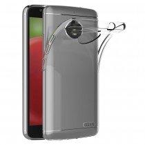 Hoesje Motorola Moto E4 Flexi bumper - 0,3mm - doorzichtig