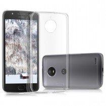 Hoesje Motorola Moto E4 hard case transparant