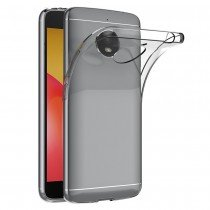 Hoesje Motorola Moto E4 Plus Flexi bumper - 0,3mm - doorzichtig