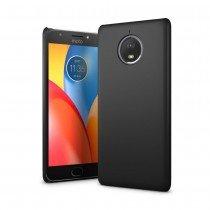 Hoesje Motorola Moto E4 Plus hard case zwart