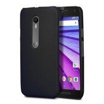 Hoesje Motorola Moto G 3rd gen hard case zwart