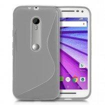 Hoesje Motorola Moto G 3rd gen TPU case transparant
