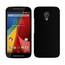 Hoesje Motorola Moto G 4G (2015) hard case zwart