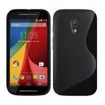 Hoesje Motorola Moto G 4G (2015) TPU case zwart