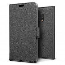 Hoesje Motorola Moto G4 Play flip wallet zwart