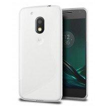 Hoesje Motorola Moto G4 Play TPU case transparant