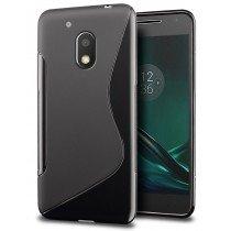 Hoesje Motorola Moto G4 Play TPU case zwart