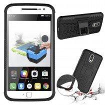 Hoesje Motorola Moto G4 Plus ballistic case zwart