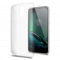 Hoesje Motorola Moto G4 Plus flexi bumper - 0,3mm - doorzichtig