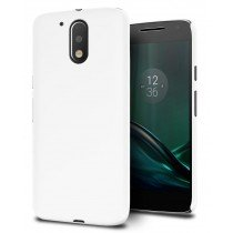 Hoesje Motorola Moto G4 Plus hard case wit