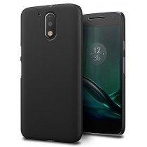 Hoesje Motorola Moto G4 Plus hard case zwart