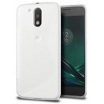 Hoesje Motorola Moto G4 Plus TPU case transparant