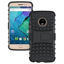 Hoesje Motorola Moto G5 ballistic case zwart