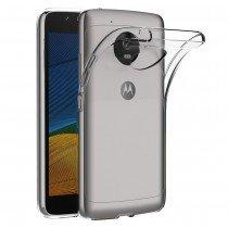 Hoesje Motorola Moto G5 Flexi bumper - 0,3mm - doorzichtig