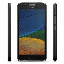 Hoesje Motorola Moto G5 hard case zwart