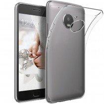 Hoesje Motorola Moto G5 Plus Flexi bumper - 0,3mm - doorzichtig
