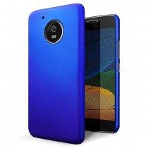Hoesje Motorola Moto G5 Plus hard case blauw