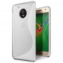 Hoesje Motorola Moto G5 Plus TPU case transparant