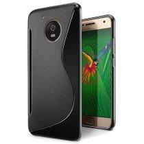 Hoesje Motorola Moto G5 Plus TPU case zwart