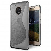 Hoesje Motorola Moto G5 TPU case smoke