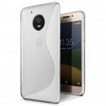 Hoesje Motorola Moto G5 TPU case transparant