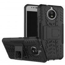 Hoesje Motorola Moto G5S ballistic case zwart
