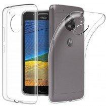 Hoesje Motorola Moto G5S Flexi bumper - 0,3mm - doorzichtig