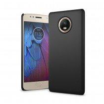 Hoesje Motorola Moto G5s hard case zwart