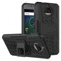 Hoesje Motorola Moto G5S Plus ballistic case zwart