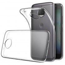 Hoesje Motorola Moto G5S Plus Flexi bumper - 0,3mm - doorzichtig