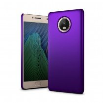 Hoesje Motorola Moto G5s Plus hard case paars