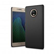 Hoesje Motorola Moto G5s Plus hard case zwart