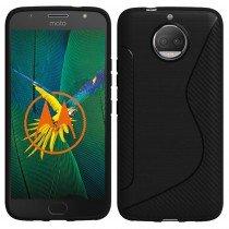 Hoesje Motorola Moto G5S Plus TPU case zwart