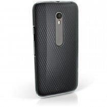 Hoesje Motorola Moto X Play hard case transparant