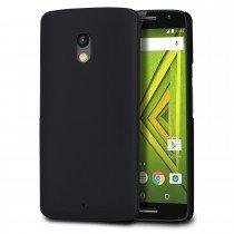 Hoesje Motorola Moto X Play hard case zwart