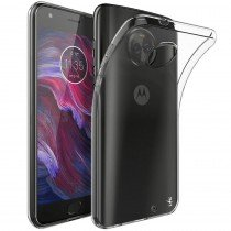 Hoesje Motorola Moto X4 Flexi bumper - 0,3mm - doorzichtig
