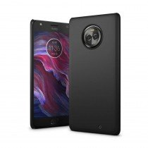 Hoesje Motorola Moto X4 hard case zwart