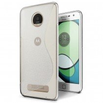 Hoesje Motorola Moto Z Play TPU case transparant