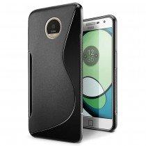 Hoesje Motorola Moto Z Play TPU case zwart