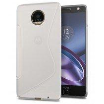 Hoesje Motorola Moto Z TPU case transparant